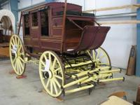 For sale is a real stagecoach. Abbot-Downing Type