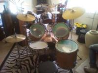 I have a 5-piece Stagg Drum set w/ 2-cymbals & stands