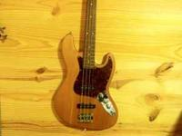This is my Stagg Bass.. I was planning on learing to