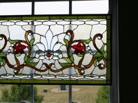 Stunning stained glass design.Will be the centerpiece