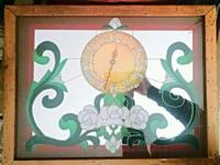Type: DecorType: Mirrors This pub-style stained glass