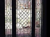 I am offering the manufacturing of stained glass