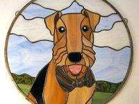 Have your pet immortalized in stained glass. We custom