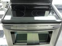 "Used Kenmore Elite 30"" stainless steel, glasstop, 5"