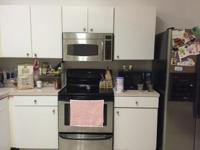 Gently Used Stainless Steel Kenmore Refrigerator and
