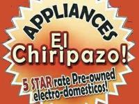 WE HAVE GOOD APPLIANCES AVAILABLE / TENEMOS BUENOS