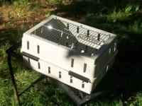 Professional all stainless steel cages. Perfect for dog