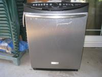 STAINLESS STEEL FRIGIDAIRE DISHWASHER   Model