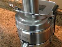 This juicer is in perfect condition and has been rarely