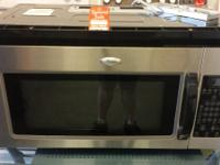 BUILT IN STAINLESS STEEL MICROWAVE,PERFECT COND.CALL OR