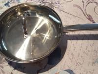 Cook N Home 18/10 stamped Stainless Steel frying Pan