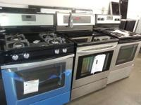 STAINLESS STEEL STOVES STARTING AT $300 delivered