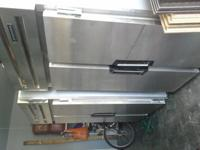 All working commercial Jordon Refrigerator and Freezer.