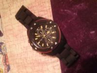 Got this watch as a gift had it for a month never even