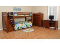 GREAT QUALITY, SOLID WOOD, STAIRWAY BUNK BEDS AT A VERY
