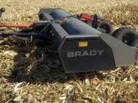 Selling a Brady 1680 15 foot stalk chopper. Everything