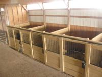 STALLS FOR RENT $175 A MONTH OR 3 OR MORE $150 EACH