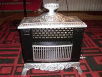 Antique Petite Parlor GAS Heating Stove VICTORIAN
