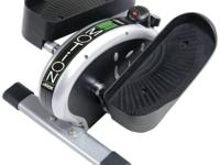 Compact, lightweight elliptical trainer for the office
