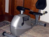 Stamina Programmable Magnetic 4825 Recumbent Exercise