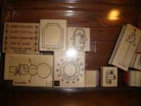 Selling two sets of Stampin up rubber stamps. Almost