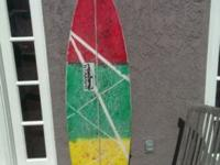 I have a stamps scarecrow model surfboard In good