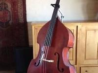 Nice sounding Acoustic stand up bass. Plays well,