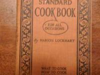 Rare find, collectible cookbook-- Standard Cookbook for