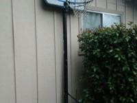 its a outside standing basketball hoop good for parking