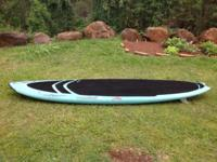 "Seabird SUP 9'2"" x 28 1/4"" x 4 1/4"" FCS fin setup and"