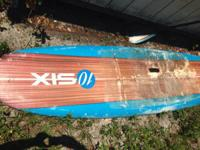 Offering an EPS California Board Company paddleboard.
