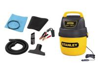 This is a 12-Volt DC wet and dry vacuum. The