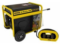 Stanley's commercial duty portable generator with