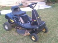 I'm selling my nice riding mower Has new battery with