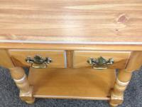 Nice wood Stanley nightstands. Two available, priced at