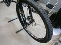 Stans 29r Flow EX wheelset laced with DT Comps 1.8 /