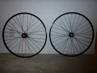 Stans 29er Arch Rims - Stans ZTR hubs. QR front and