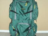 Dark Green Stansport External Framed Backpack I bought