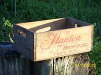 For sale is a beer crate in excellent condition from