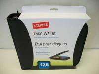 Staples 128 CD/DVD Wallet - Brand new in factory