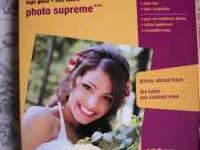 Staples Photo Supreme High Gloss Paper 100 Sheets Call