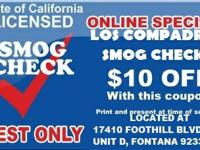 LOS COMPADRES SMOG CHECK  [[ STAR CERTIFIED ]]  SE