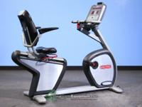 Star Trac Pro 6400 Recumbent Bike. Great for Rehab and