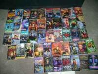i have alot of star track books there probably about 30