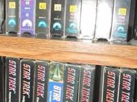Complete Star Trek VHS Collection from the 1960s for