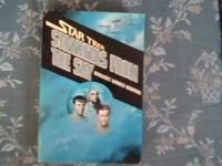I have 3 hard to find star trek books that are in great