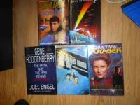 I have a great Star Trek collection of books. I am