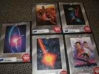I am selling the Star Trek DVD collection for $8 each