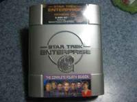 6-Disc set of Star Trek Enterprise Season 4. Unopened.