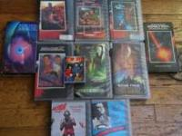 Awesome VHS collection of Star Trek. Also, a super cool
